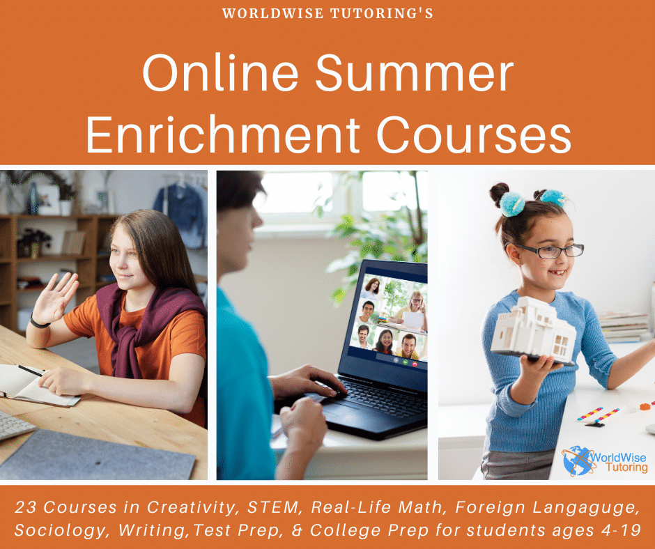 Online Summer Enrichment Courses